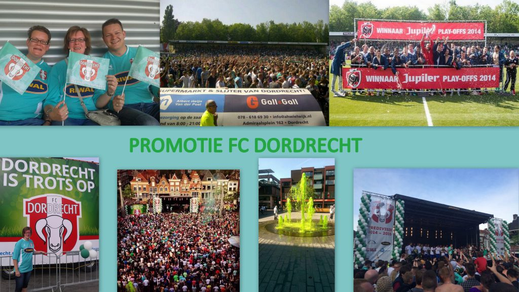 Collage promoveren
